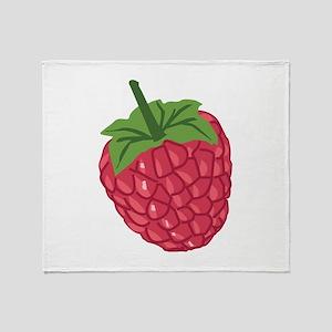 Raspberry Throw Blanket