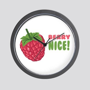 Berry Nice Wall Clock