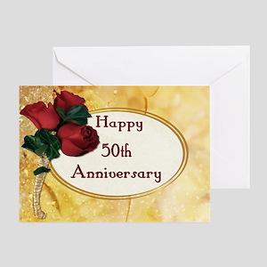 Golden Anniversary Greeting Card