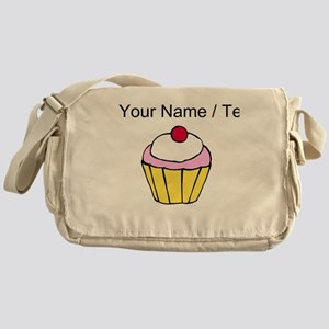 Cherry Cupcake (Custom) Messenger Bag
