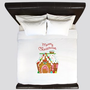 MERRY CHRISTMAS King Duvet