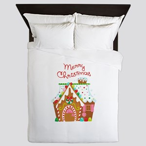 MERRY CHRISTMAS Queen Duvet