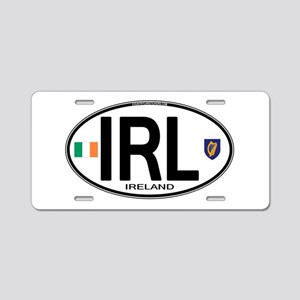 irl-euro-oval2 Aluminum License Plate