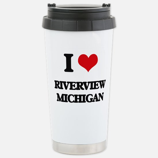 I love Riverview Michig Stainless Steel Travel Mug
