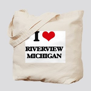 I love Riverview Michigan Tote Bag