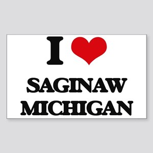 I love Saginaw Michigan Sticker