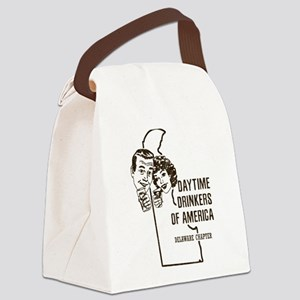 Delaware Daytime Drinkers Canvas Lunch Bag