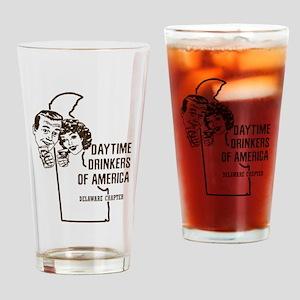 Delaware Daytime Drinkers Drinking Glass
