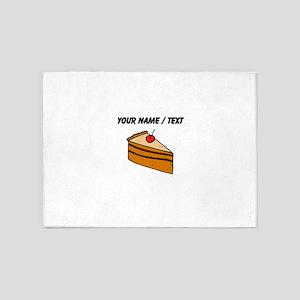 Cheesecake (Custom) 5'x7'Area Rug