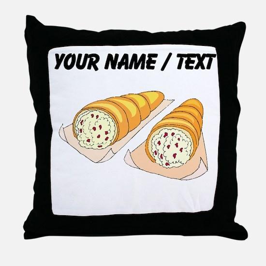 Cannoli (Custom) Throw Pillow