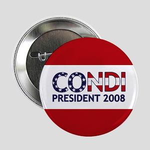 CONDI PRESIDENT 2008 Button