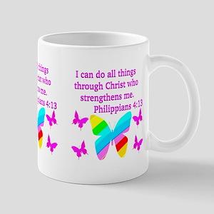 PHILIPPIANS 4:13 Mug