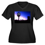Morning Sunrise In Hermosa Beach Plus Size T-Shirt