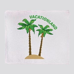 Vacationland Throw Blanket