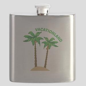 Vacationland Flask