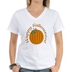 Happy Halloween! Women's V-Neck T-Shirt
