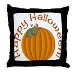 Happy Halloween! Throw Pillow