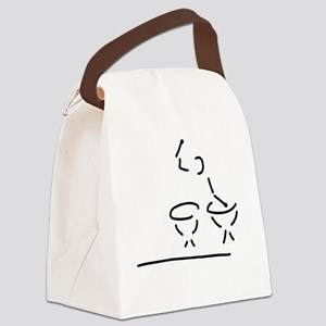 paukist around of player play the Canvas Lunch Bag
