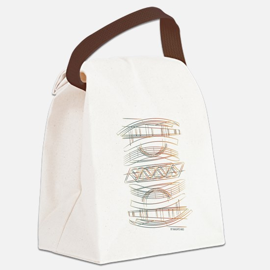 Cute Architect Canvas Lunch Bag