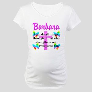 PHILIPPIANS 4:13 Maternity T-Shirt