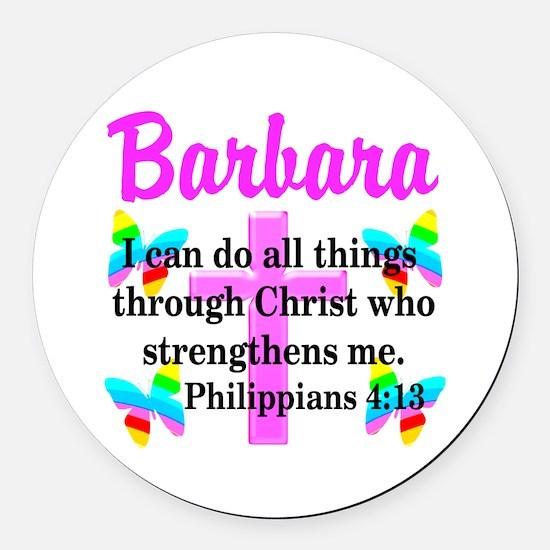 PHILIPPIANS 4:13 Round Car Magnet