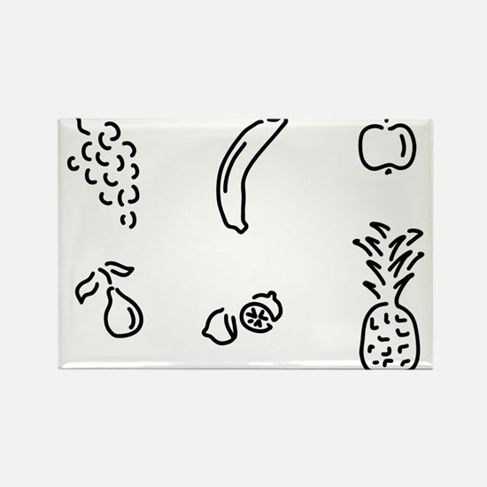 fruit fruits Magnets