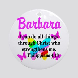PHILIPPIANS 4:13 Ornament (Round)