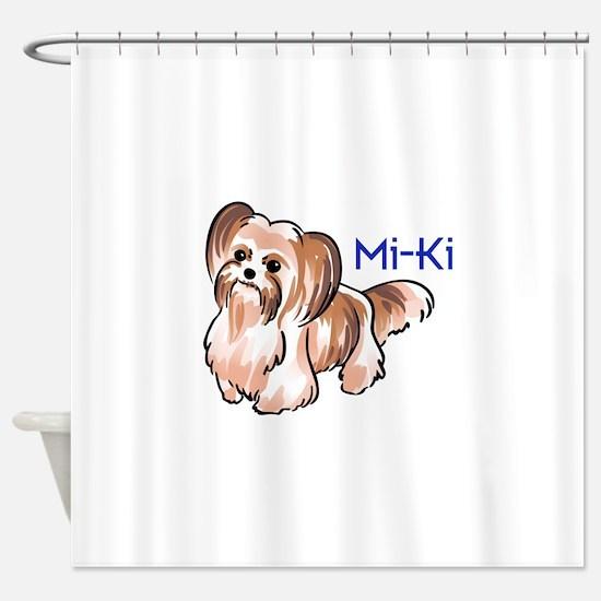 MI KI Shower Curtain