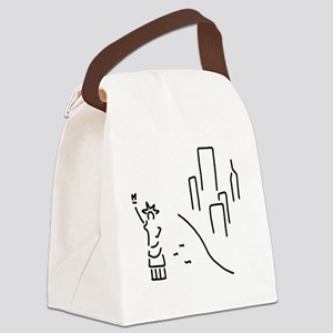 new York the statue of Liberty em Canvas Lunch Bag
