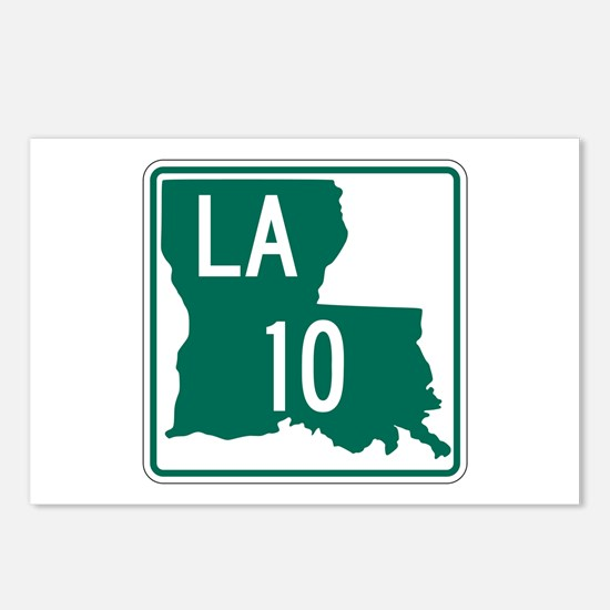 Route 10, Louisiana Postcards (Package of 8)