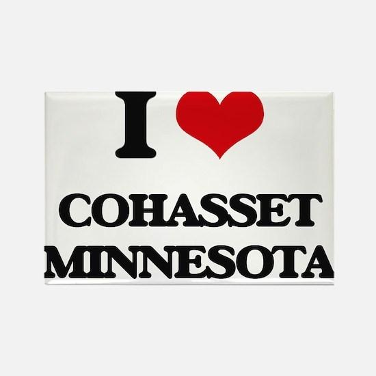 I love Cohasset Minnesota Magnets