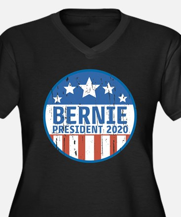 Bernie for President 2020 Plus Size T-Shirt