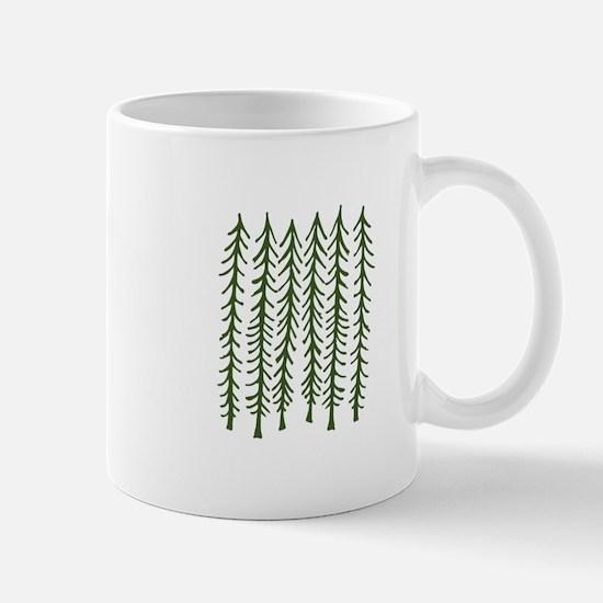 Pine Trees Mugs