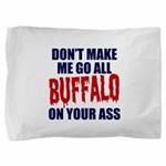 Buffalo Football Pillow Sham