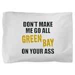 Green Bay Football Pillow Sham