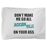 Jacksonville Football Pillow Sham