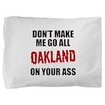 Oakland Football Pillow Sham