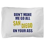 San Diego Football Pillow Sham