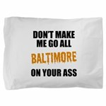 Baltimore Baseball Pillow Sham