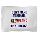 Cleveland Baseball Pillow Sham
