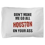 Houston Baseball Pillow Sham