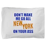 New York Baseball Pillow Sham