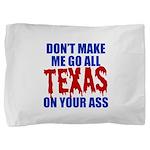 Texas Baseball Pillow Sham