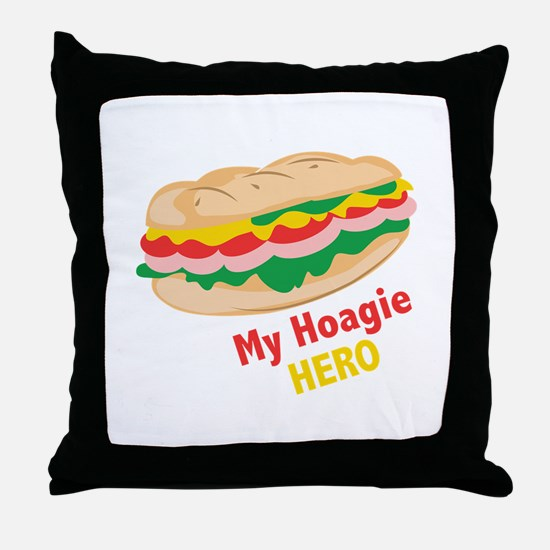 Hoagie Hero Throw Pillow