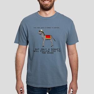 T0035A-DonkeyToRiver-2000x2000 T-Shirt