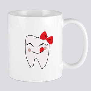 Girly Tooth Mugs