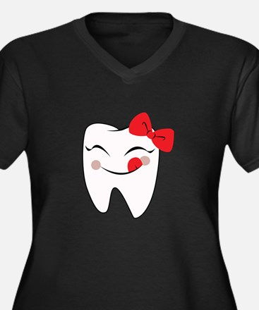 Girly Tooth Plus Size T-Shirt