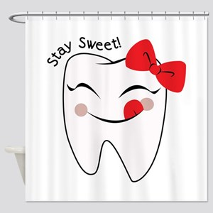 Stay Sweet Shower Curtain
