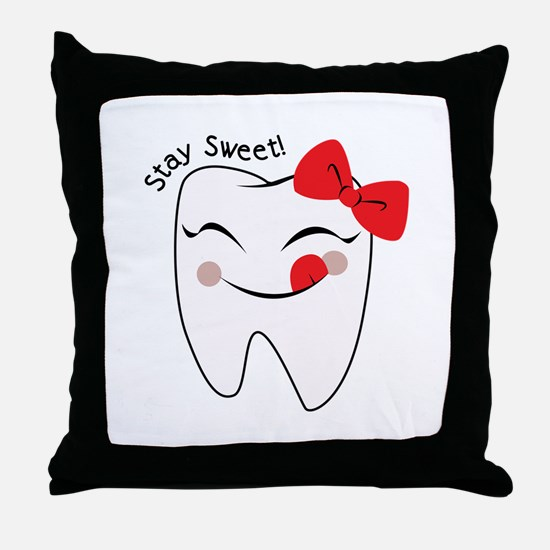 Stay Sweet Throw Pillow