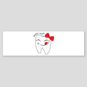 Sweet Tooth Bumper Sticker